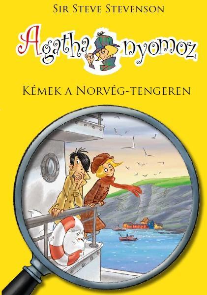Steve Stevenson - Agatha nyomoz 10. - Kémek a Norvég tengeren