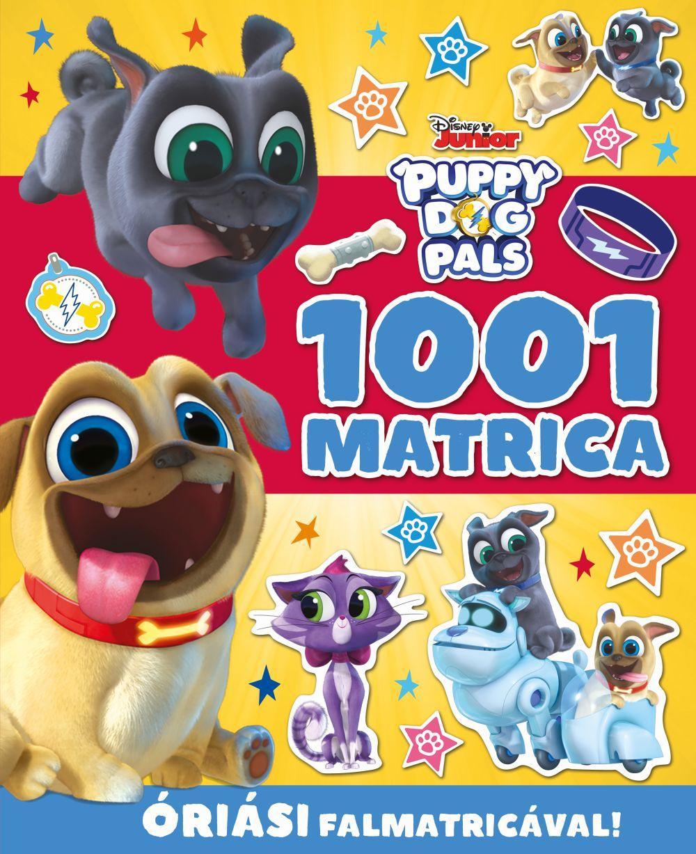 - - 1001 Disney Junior Matrica - Kutyapajtik