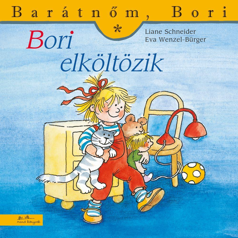 Liane Schneider - Bori elköltözik - Barátnőm, Bori 44.