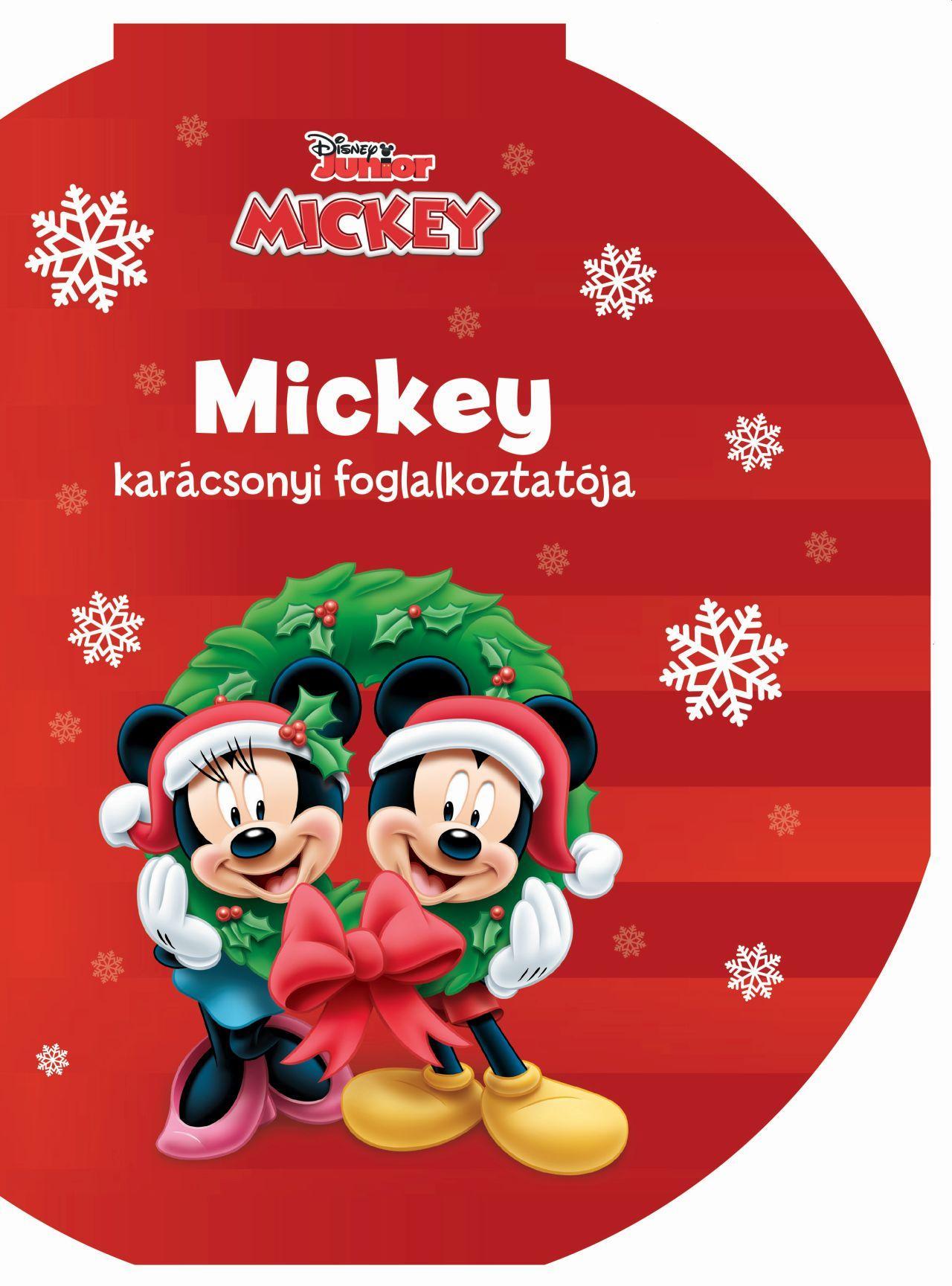 - - Mickey karácsonyi színezője - Disney Junior színező