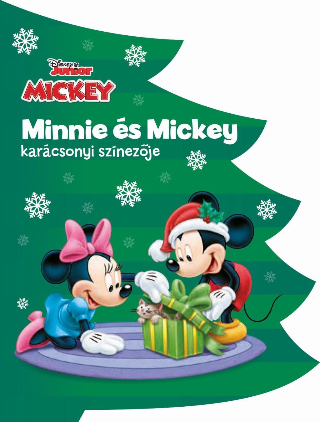 - - Disney - Minnie és Mickey karácsonyi színezője