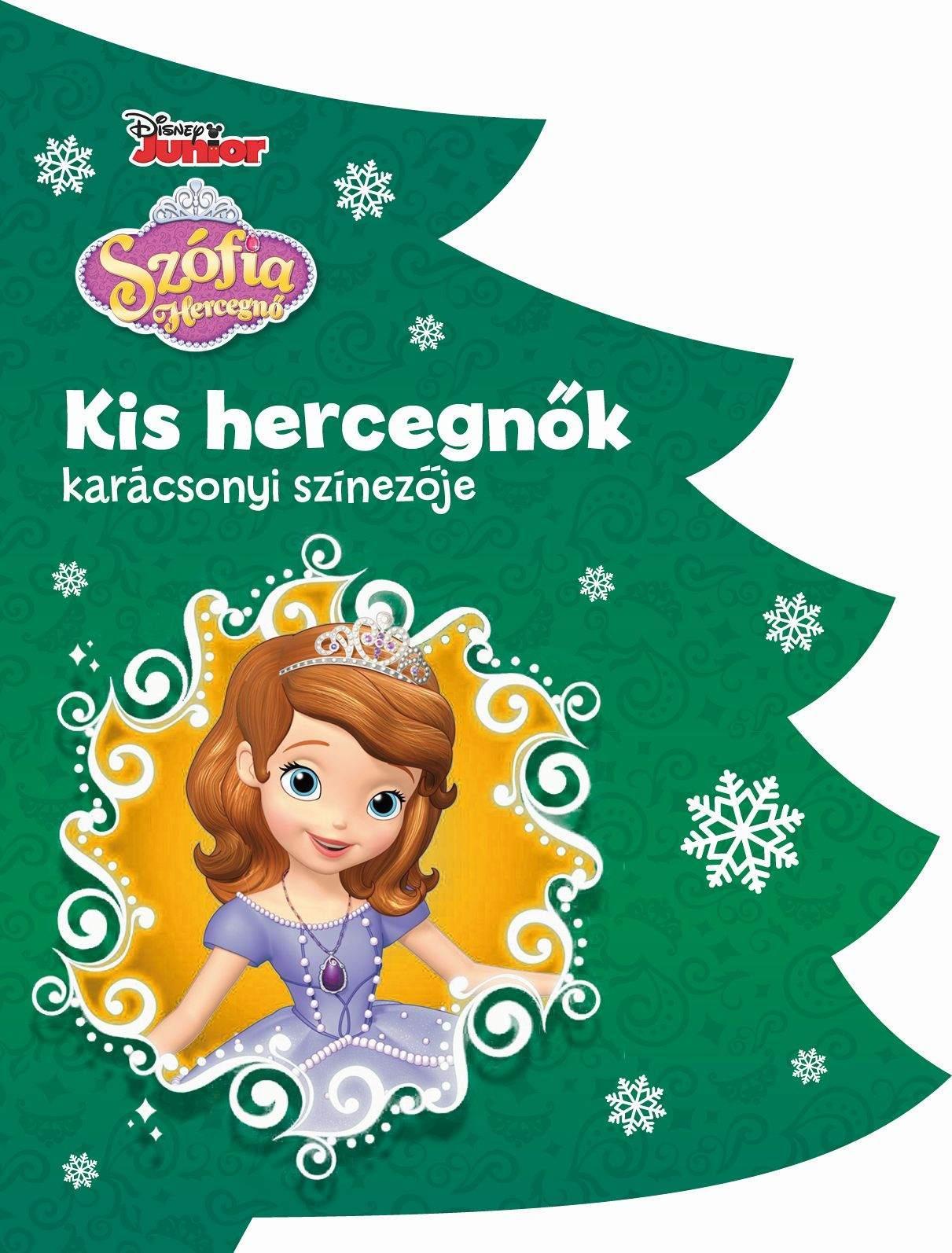 - - Disney - Kis hercegnők karácsonyi színezője